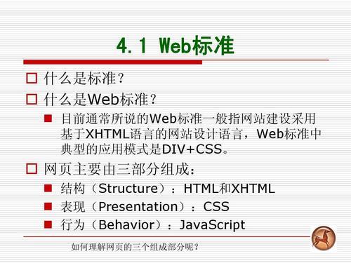 web标准